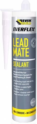 Everbuild Lead Mate Sealant Grey - 300ml  Image 1