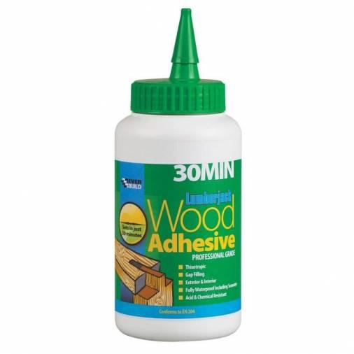 Everbuild Lumberjack 30 Minute Polyurethane Wood Adhesive  Image 2
