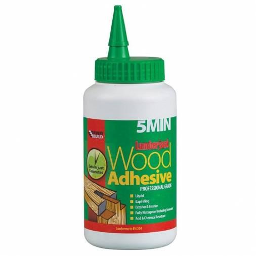 Everbuild Lumberjack 5 Minute Polyurethane Wood Adhesive  Image 2