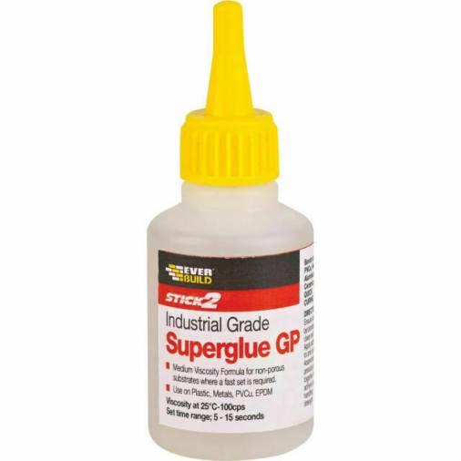 Everbuild General Purpose Industrial Superglue - 20g Image 1