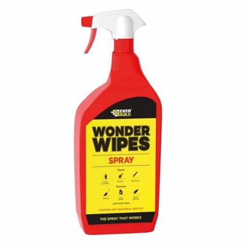Everbuild Multi-Use Wonder Wipe Spray - 1L  Image 1