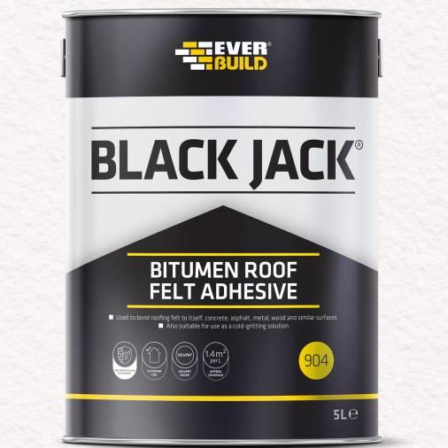Everbuild 904 Roofing Felt Adhesive - 2.5 litre Image 1