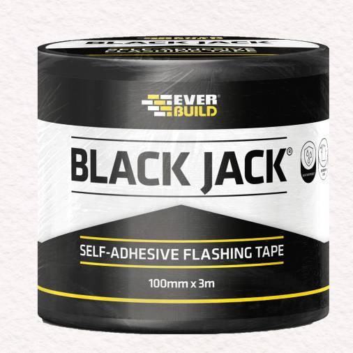 Everbuild Black Jack Self-Adhesive Flashing Tape Image 1