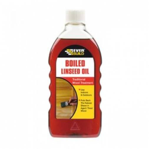 Everbuild Boiled Linseed Oil 500ml  Image 1
