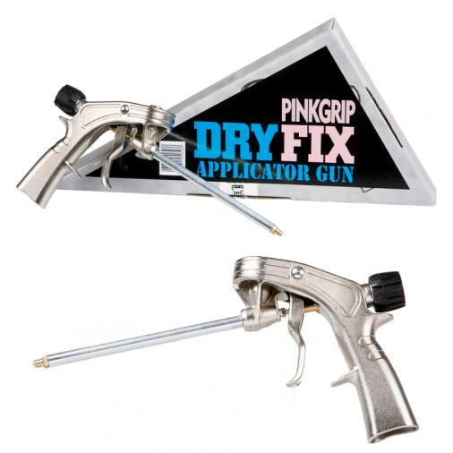 Everbuild Pink Grip Fix Applicator Gun Image 1