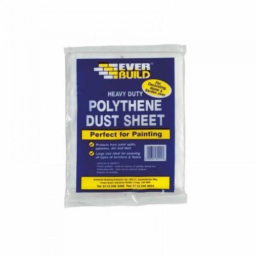 Everbuild Polythene Dust Sheets 12