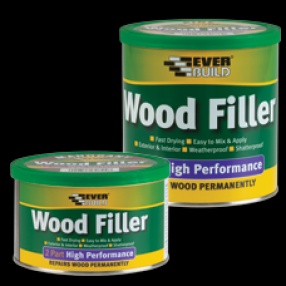 Everbuild 2 Part Wood Filler 1.4kg (6) Image