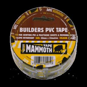 Everbuild Builders PVC Tape 50mm x 33m (24) Image