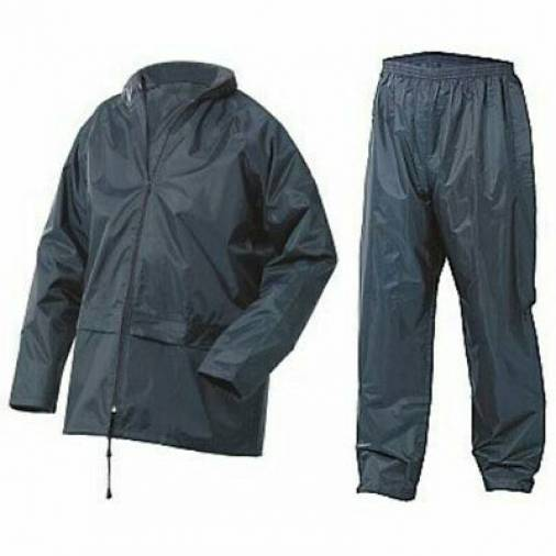 B-Dri NBDSN Nylon Rain Suit / Waterproofs Navy  Image 2