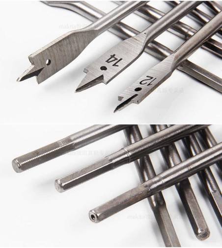 Makita Contractor Standard Flat Bits Image 2