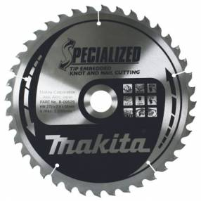 Added Makita Specialized Saw Blades Knot and Nail To Basket