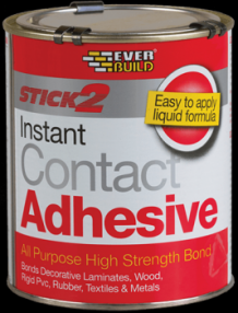 Added Everbuild Stick2 Contact Adhesive To Basket