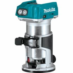 Makita DRT50Z Brushless Router/Trimmer 18V Body Only with Case | Specialist Ironmongery & Industrial Suppliers Ltd