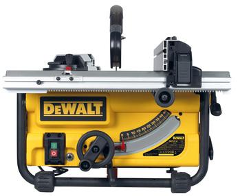 Dewalt DWE7485 Table Saw 250mm w/ DWE7400 Rolling Stand Image