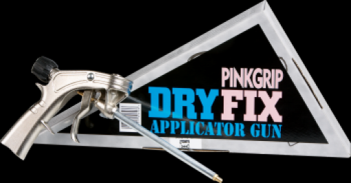 Everbuild Pink Grip Fix Applicator Gun Image
