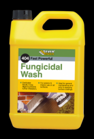 Everbuild 404 Fungicidal Wash 5 litre (4) | Specialist Ironmongery & Industrial Suppliers Ltd