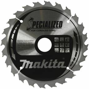 Makita Specialized Portable Saw Blades 165 x 20mm 24T | Specialist Ironmongery & Industrial Suppliers Ltd