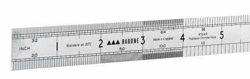 Added Stanley 64R Metric/Imperial Rabone Rustless Steel Rule  To Basket