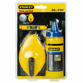 Stanley 0-47-443 Chalk Line Set 30m | Specialist Ironmongery & Industrial Suppliers Ltd
