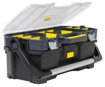 Added Stanley 1-97-514 Tool Tote w/ Organiser To Basket