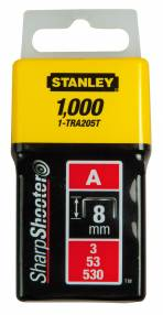 Added Stanley TRA2 Series Light Duty Staples Pk 1000 To Basket