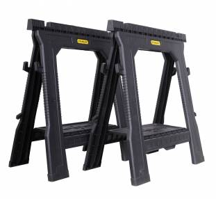 Added Stanley 1-70-713 Folding Saw Horse - Twin Pack To Basket