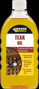 Added Everbuild Teak Oil 500ml (12) To Basket
