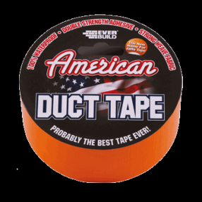 Everbuild American Duct / Gaffa Tape Silver 50mm x 25m (12) Image