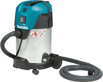 Added Makita VC3011L L Class Dust Extractor 30L To Basket