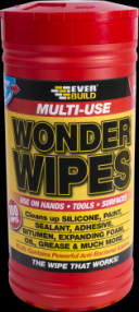 Everbuild Multi-Use Wonder Wipes | Specialist Ironmongery & Industrial Suppliers Ltd