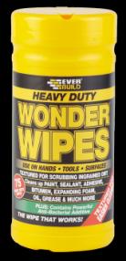 Everbuild Heavy Duty Wonder Wipes / Scrubs 75 (6) | Specialist Ironmongery & Industrial Suppliers Ltd