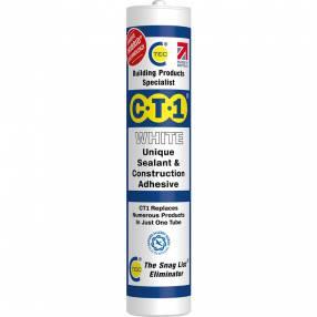 Added C-Tec CT1 Multi-Purpose Adhesive & Sealant - 290ml To Basket