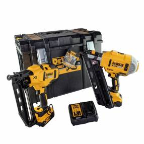 Dewalt DCK264P2 Brushless Twin Nailer Pack | SIIS Ltd