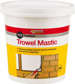 Everbuild 103 Trowel Mastic - Red | SIIS Ltd