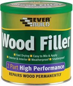 Everbuild 2 Part Wood Filler 1.4kg | SIIS Ltd