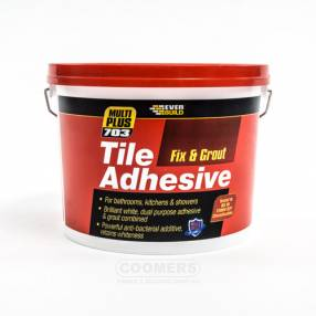 Added Everbuild 703 Fix & Grout Tile Adhesive - White To Basket
