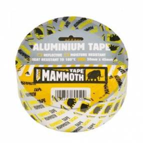 Added Everbuild Aluminium Tape Silver 50mm x 45m   To Basket