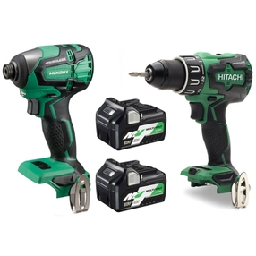 HiKOKI KC18DBFL2JDZ Cordless Twin Pack 18V | SIIS