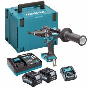 Makita HP001GD202 40V Brushless Combi Drill Kit   SIIS Ltd